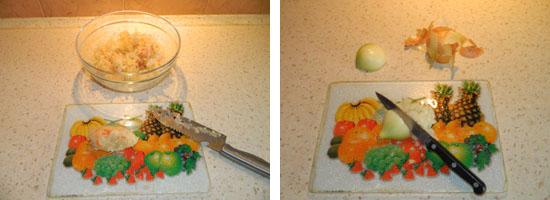 Szatkujemy cebulę