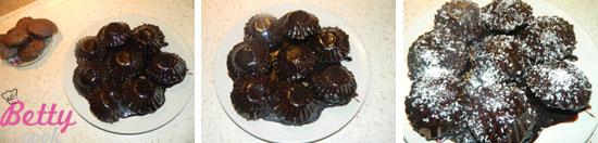 Babeczki czekoladowe z wiórkami