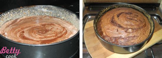 Ciasto w tortownicy