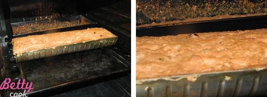Keks w piekarniku