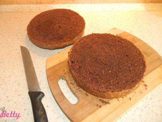 Przekrawamy ciasto