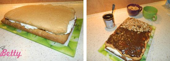 Przekładamy ciasto