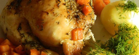 Kurczak pieczony klasycznie
