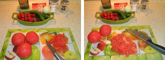 Kroimy pomidorki