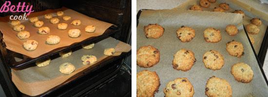 Wstawiamy ciasteczka do piekarnika