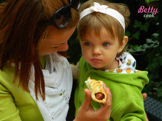 Książęce snacki - Betty i bąbelek