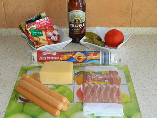Książęce snacki - składniki