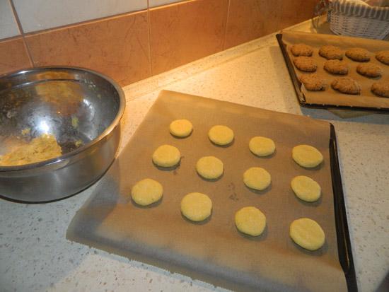 Ciasteczka na blasze