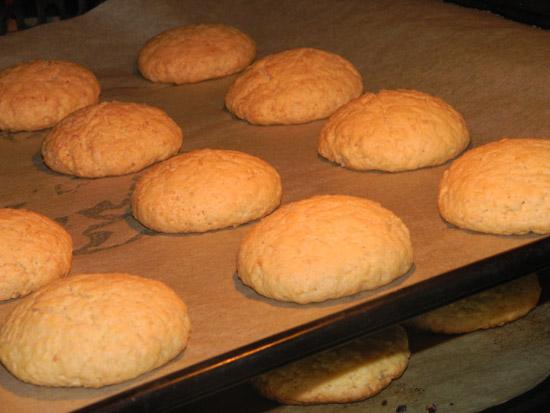 Ciasteczka w piekarniku