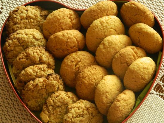 Kruche ciasteczka z wiórkami kokosywmi