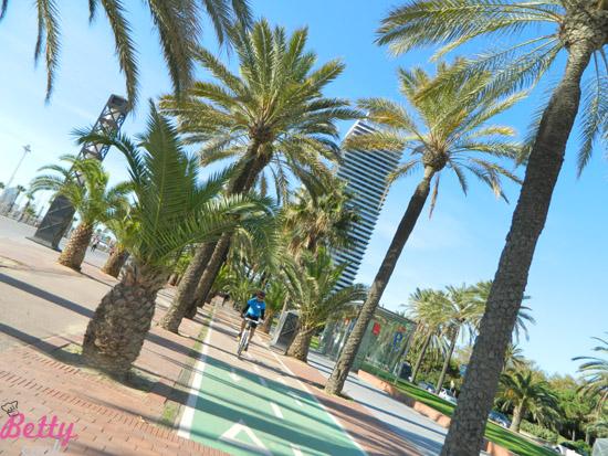 Promenada w Barcelonie