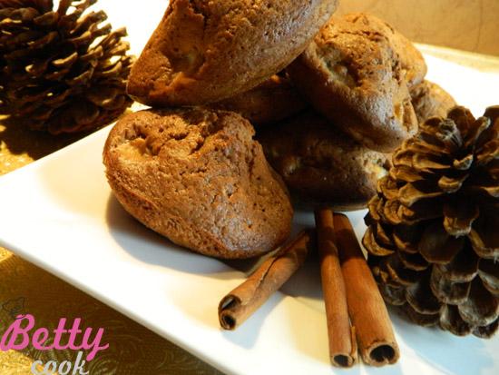 Muffiny cynamonowo - jabłkowe